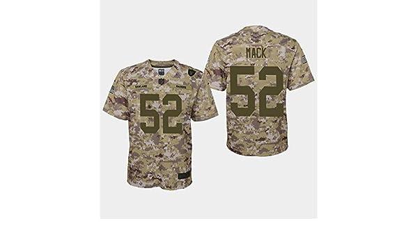 9d7e530183078 Amazon.com : Nike Khalil Mack Oakland Raiders NFL Youth Salute to ...