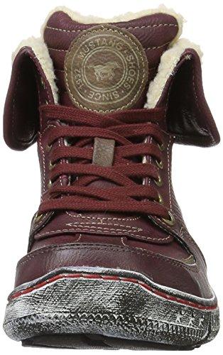 Mustang Damen 1110-609 Biker Boots Rot (55 Bordeaux)