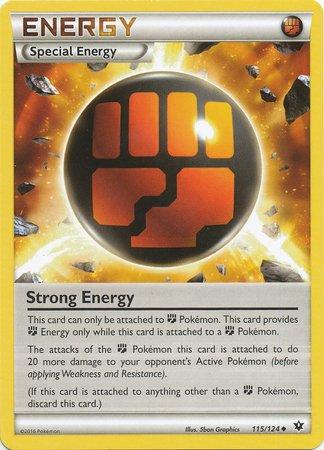 Pokemon - Strong Energy (115/124) - XY Fates - Energy Uncommon Card