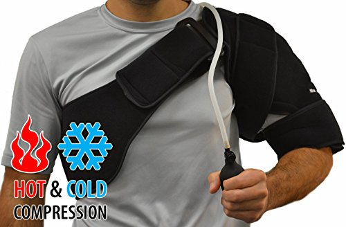 NatraCure Hot/Cold & Compression Shoulder Support 6032 - (Left/Right Shoulder)