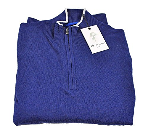 robert-graham-mens-bouganville-medium-heather-navy-quarter-zip-pullover