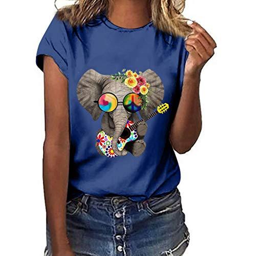 Casual T Shirt Tees O Neck Shirts Tops,Londony Women Sunflower Graphic Funny Tee Summer Short Sleeve Faith Top