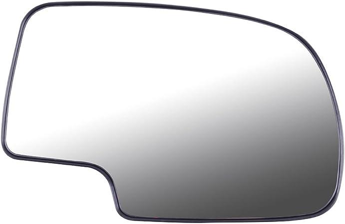 Aintier Driver Side Exterior Mirror Glasses Compatible with 1999-2006 Chevrolet Silverado Suburban GMC Sierra Yukon Manual 12477843