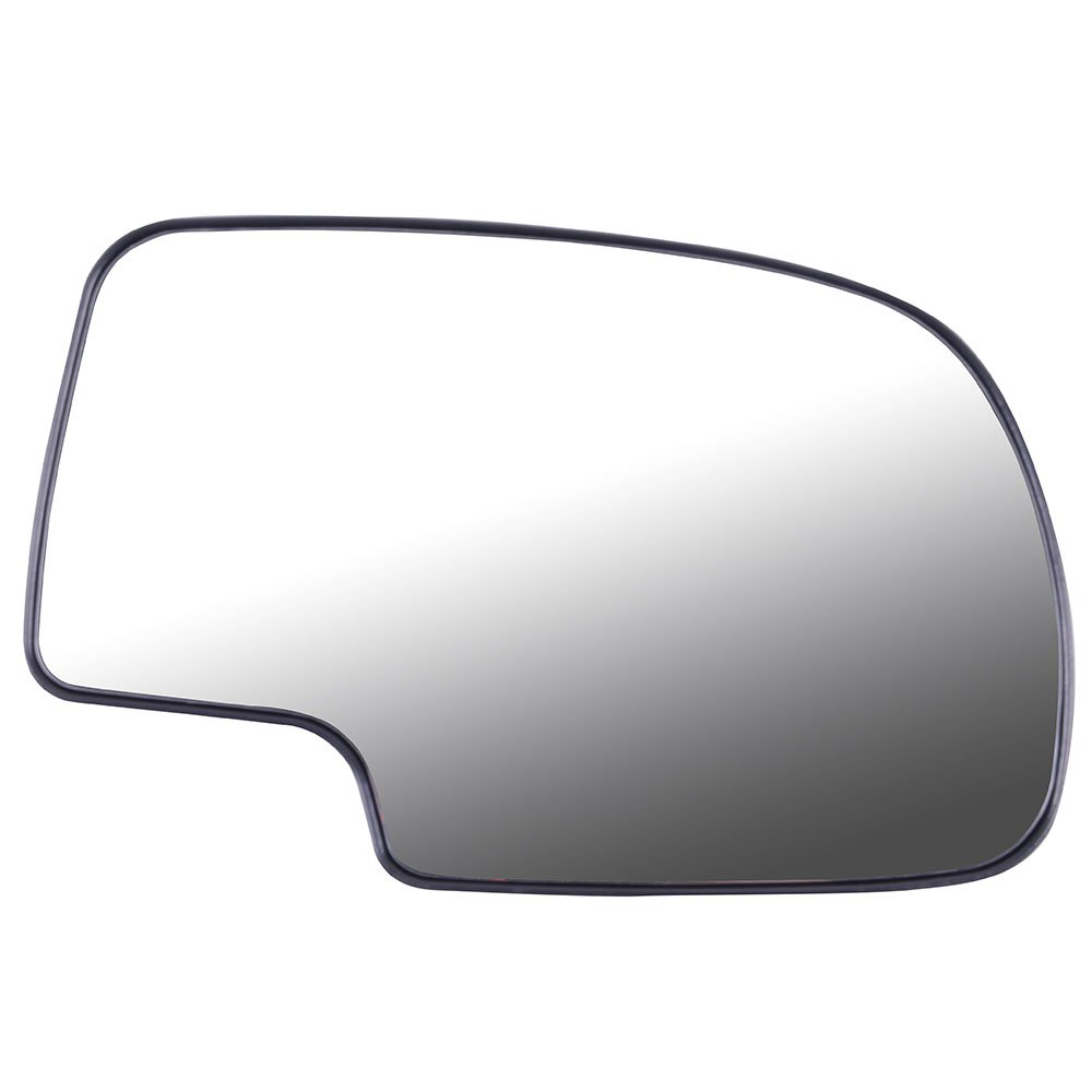 Hd Sold By Rugged TUFF New Replacement Driver Side Mirror Glass W Backing Compatible With Suburban Avalanche Silverado Sierra Yukon XL 1500 2500 3500