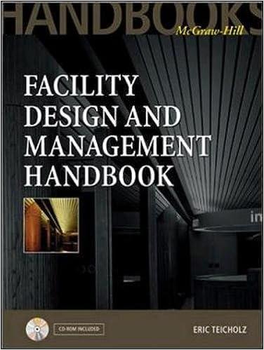 Facility Design And Management Handbook Eric Teicholz 9780071353946 Amazon Books