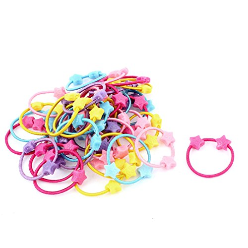 uxcell Assorted Elastic Ponytail Holder