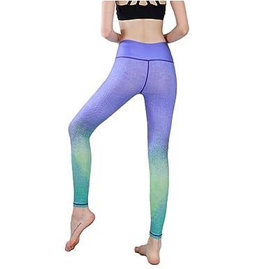 Kangcheng Pantalones de Yoga para Mujer Correr Medias ...