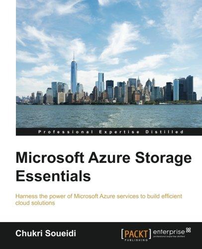Microsoft Azure Storage Essentials PDF