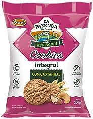 Cookies Com Castanhas BIOSOFT 100g