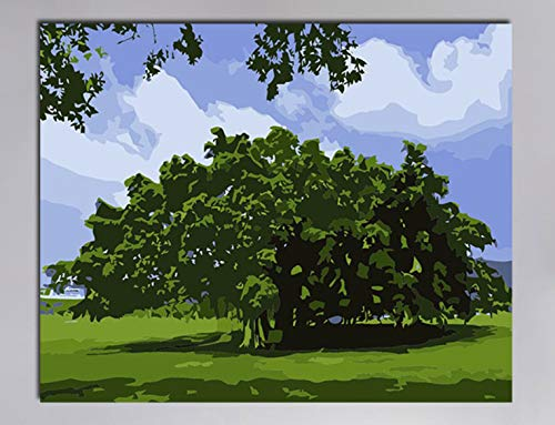 Superlucky Die Landschaft ist dunkel und böse böse böse Kandinsky Gemälde zeichnen Malen nach Zahlen auf Leinwand Nummerierung Malen nach Anzahl Kits 40x50cm mit Rahmen B07K6M4X1J | Eine Große Vielfalt An Modelle 2019 Neue  710eb4