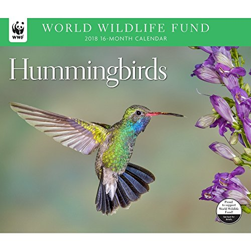 2018 Hummingbirds WWF Wall Calendar