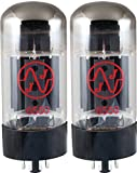 JJ Electronics T-6550-JJ-MP Vacuum Tube Tetrode Beam Power Matched Pair