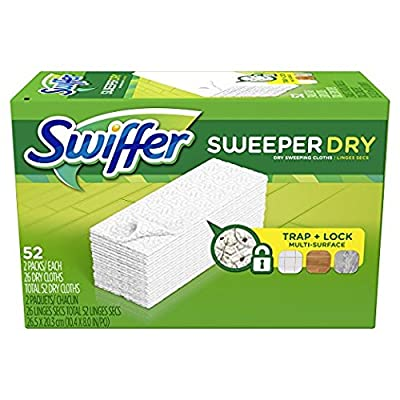 Swiffer Sweeper Dry Sweeping Pad Refills, Unscented