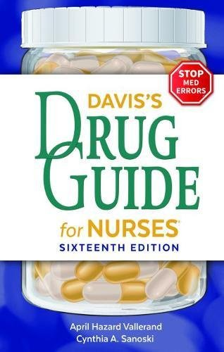 Davis's Drug Guide for Nurses (Best Drug Dictionary App)