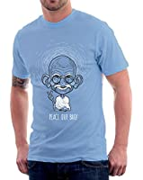 Gandhi T-Shirt, Blue