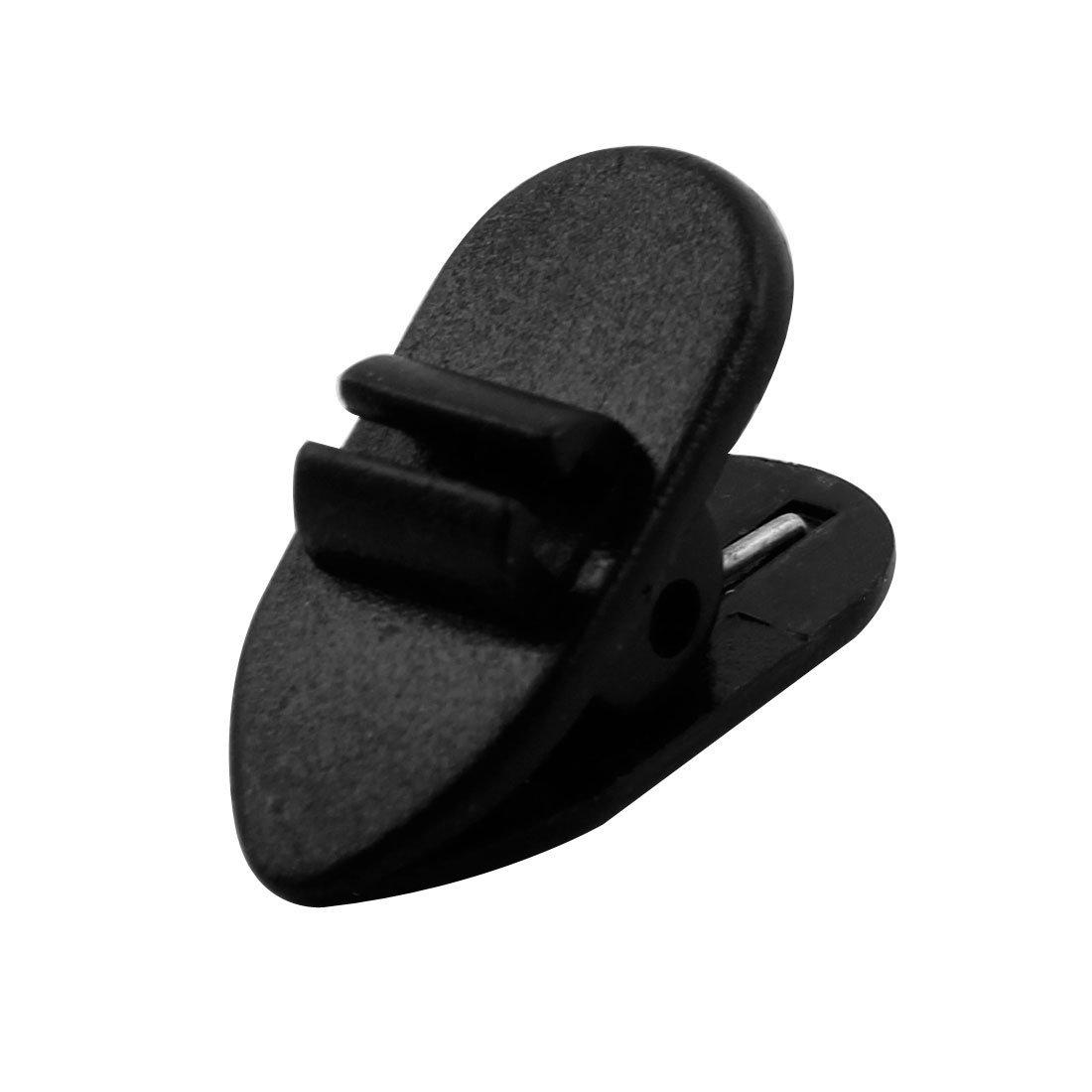 Amazon.com: eDealMax Universal del Deporte del Bluetooth V4.1 del oído estéreo gancho de botón del auricular Aviso de la voz sin hilos del auricular Negro: ...