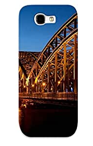 High Quality Dslzbp-1187-vbvitip Cathedral Hohenzollern Bridge Germanyl Tpu Case For Galaxy Note 2