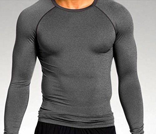 Lycot Compression Top Full Sleeve Plain Athletic Fit Multi Sports Cycling, Cricket, Football, Badminton, Gym, Fitness & Other Outdoor Inner Wear product image