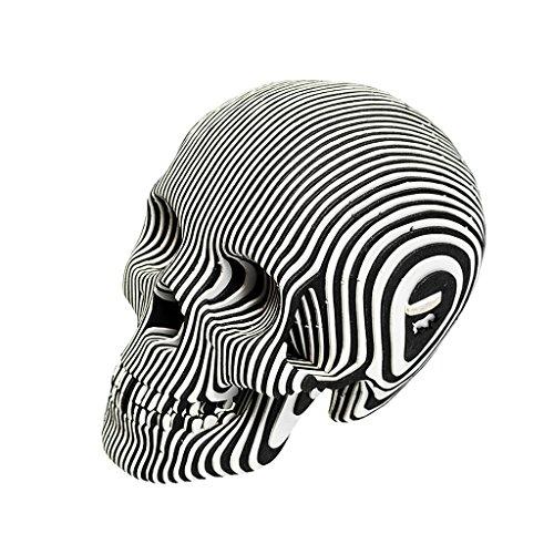 (Cardboard Safari Recycled Cardboard Skull 3D Model, Micro Vince Zebra)