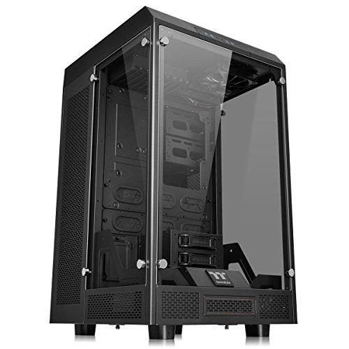 Thermaltake Gabinete Tt The Tower 900/Black/Win/Tempered Glass CA-1H1-00F1WN-00