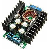 TOOGOO(R) DC-DC CC CV abaisseur Convertisseur Abaisseurs de tension module d'alimentation 7-32V a 0.8-28V 12A 300W