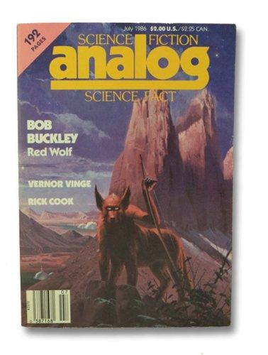 Analog Science Fiction and Fact, July 1986 (Volume CVI, No. 7)