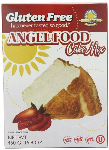 Mix Products Cake (Kinnikinnick Gluten Free Angel Food Cake Mix, 15.9 Ounce (Pack of 3))