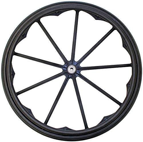 RW181P2 - (2 Pair) 24x1 Invacare/Drive 9 Spoke Mag Wheels with 2 1/8