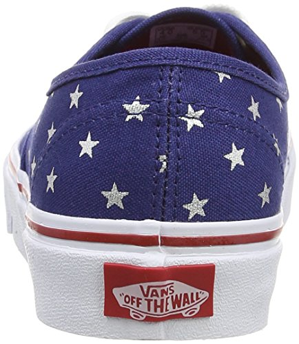 Vans Authentic - Zapatillas Unisex adulto rojo - Red (Studded Stars - Red/Blue)