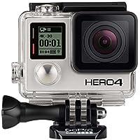 GoPro HD Hero4 Edition 4K Action Camcorder (Black) - Manufacturer Refurbished