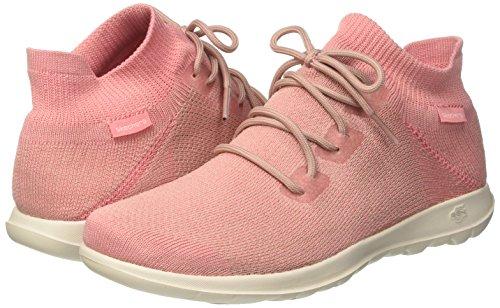 para Rosa 40 Walk EU Lite Skechers Rise Go Pink Cordones Mujer sin Zapatillas zpTqnCwqx