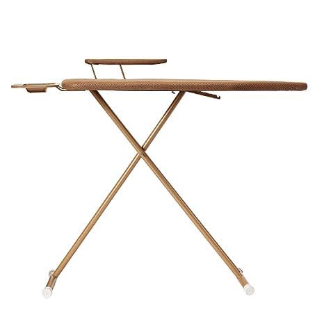 MMM Tabla de planchar grande plegable Hogar de refuerzo de planchar la toalla de hierro vertical