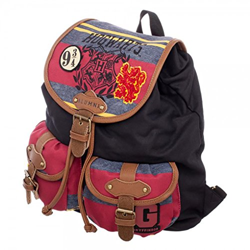 Harry Potter Hogwarts Alumni Knapsack Backpack 14 x 18in