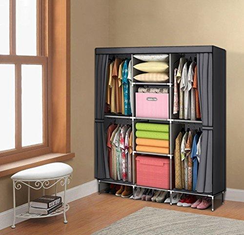 Review YOUUD Wardrobe Storage Closet