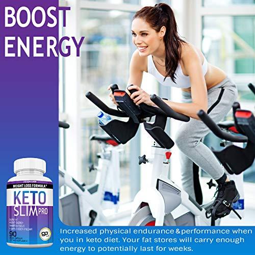 Advanced Keto Fast Diet Pills (BHB+ACV | 90 Capsules)-VegePower Keto Slim Pro with Apple Cider Vinegar-Rapid Keto Burn Utilize Fat for Energy/Ketosis, Boost Focus, Manage Cravings for Women Men