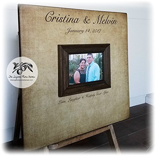 Wedding Guest Book Alternative 20X20 100 to 150 signatures The Sugared Plums Frames