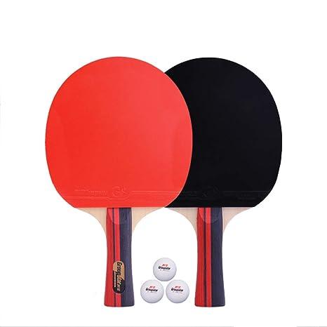 YUYAXQP PortátilTable Tenis De Mesa Pala Profesionales Ping Pong ...