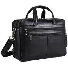 Soft Nappa Leather Laptop Case, Business Bag For Men