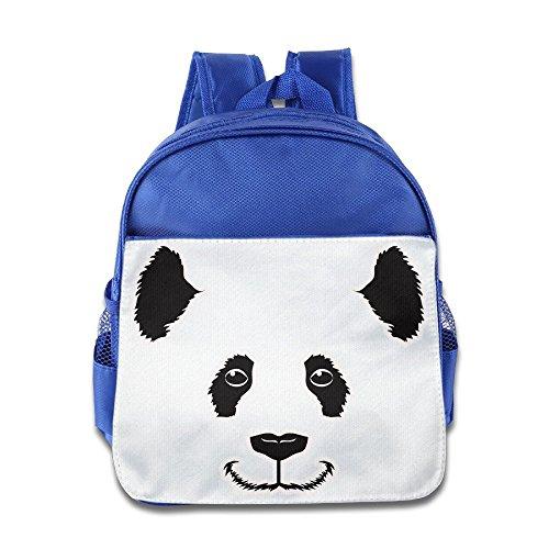 [XJBD Custom Cute Panda Smile Teenager School Bag Backpack For 1-6 Years Old RoyalBlue] (Lil Teddy Bear Costume)
