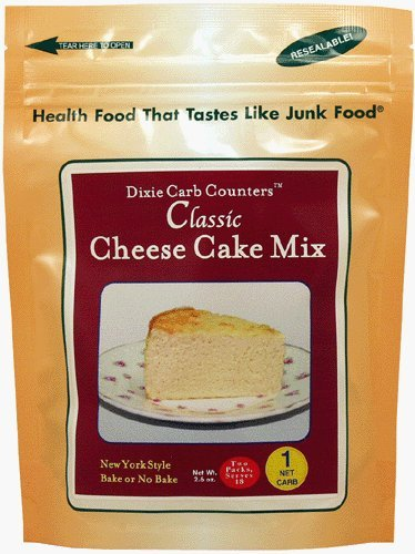 Dixie Carb Counters Cheesecake Mix - Makes 2 cheesecakes - 2.6 oz