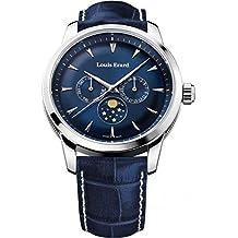 Louis Erard Heritage Collection Swiss Quartz Blue Dial Men's Watch 14910AA05.BDC102