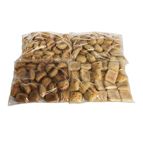 La Brea Assorted Dinner Rolls, (French, Seeded French, Rustic and Wheat), ParBaked, 2.12 oz., (96 per case).