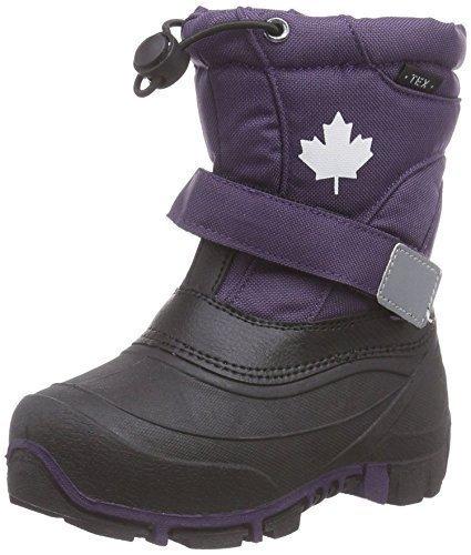 Indigo Canadians 467-185 Kinder Winter Stiefel Snow Boots (26, Violett)