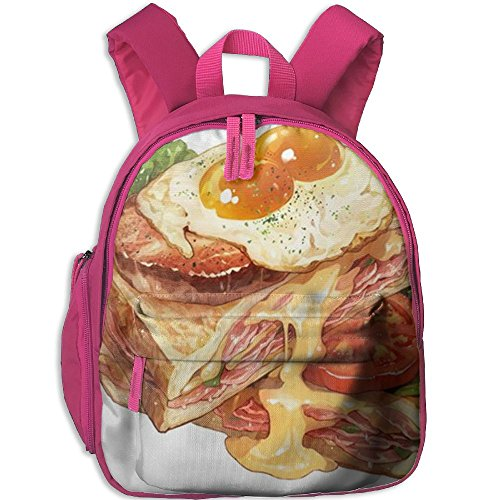 Toast Bread Snack Backpack For Preschool Childrens Place Backpack Casual For Children