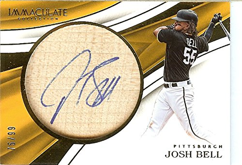 2017 Immaculate Bats #5 Josh Bell MEM/99 Pirates from Immaculate