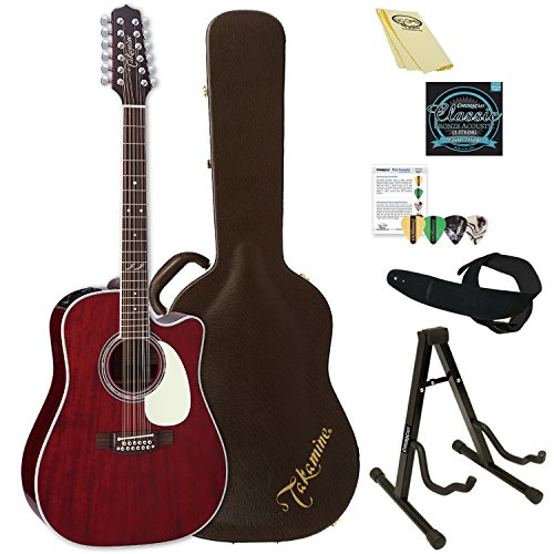 (Takamine 12 String Acoustic-Electric Guitar, Right Handed)