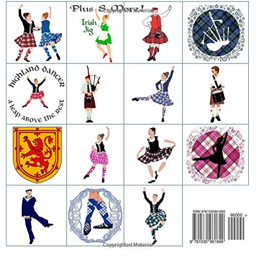 Amazon Com Maggie Ross Highland Dance Coloring Book Wonderful Dance Art For You To Color Coloring Books Volume 11 9781530961849 Kallal Ann Cothran Books