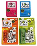 Rory's Story Cubes Bundle - Includes Rory's Story Cubes Original, Actions, Voyages & Fantasia Gamewright