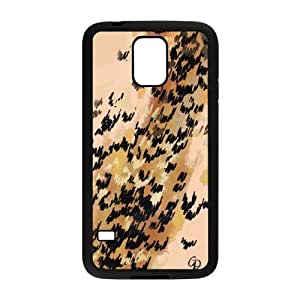 samsung galaxy s5 case (TPU) ,samsung galaxy s5 Cell phone case Black Created in partnership with French illustrator - HHKL4443161