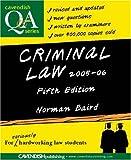 Criminal Law Q&A, Norman Baird, 185941964X